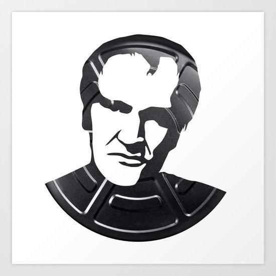 Quentin Tarantino Art Print