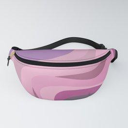3d violet shades Fanny Pack