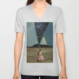 The invisible beauty Unisex V-Neck