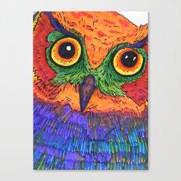 Parrot Owl  Canvas Print