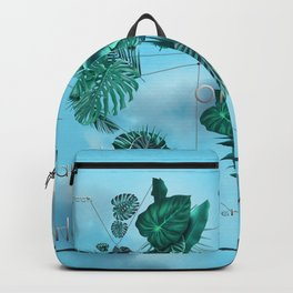 world map-world of nature 3 Backpack