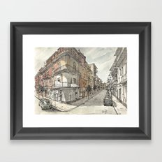 Italy Sketchbook Framed Art Print