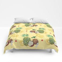 pina colada Comforters