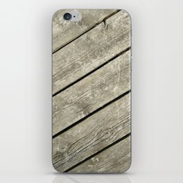 Wood Deck 1 iPhone Skin