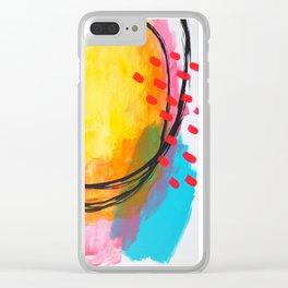 Mind & Curator Inn Clear iPhone Case