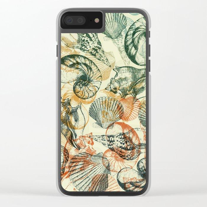 frutti di mare Clear iPhone Case