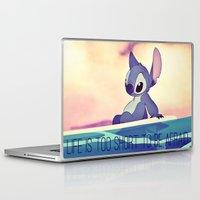 lilo and stitch Laptop & iPad Skins featuring Stitch by Chiaris