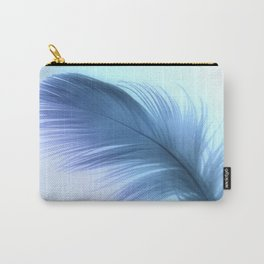 Sheer Blue Carry-All Pouch