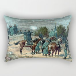 Missionary Ridge -- The Battle Of Chattanooga Rectangular Pillow