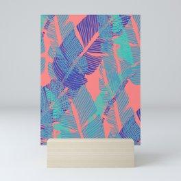 Carved Fluo Jungle #society6 #decor #buyart Mini Art Print