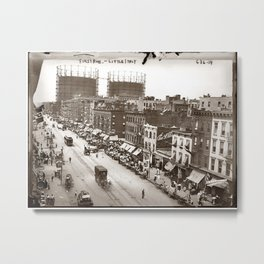 Little Italy NYC Photograph (1908) Metal Print