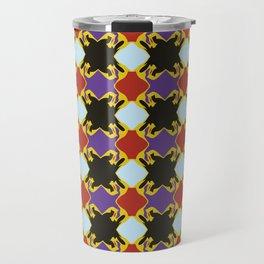 Faith Pattern Travel Mug