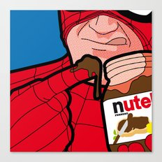 The Secret Life of Heroes - flavourfulTreat Canvas Print
