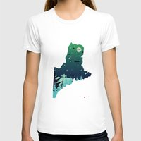 maine T-shirts featuring Almost, Maine by Typo Negative