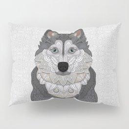 Husky Portrait Pillow Sham
