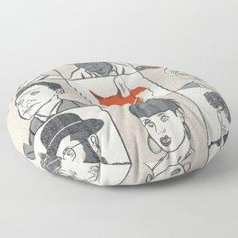 Londoners Floor Pillow