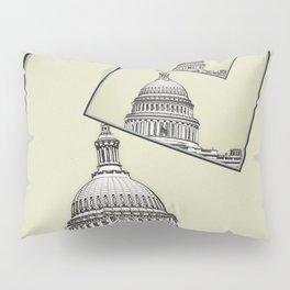 Political Spin Pillow Sham
