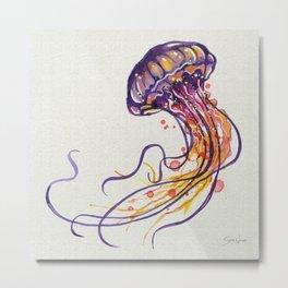 Jellyfish I Metal Print