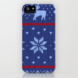 Winter Lovers Christmas iPhone Case