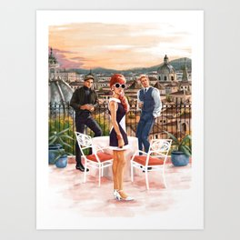 From UNCLE Art Print
