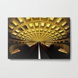 Washington Metro Metal Print