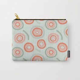 circles orange & green Carry-All Pouch
