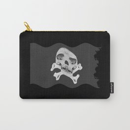 torn skullcap, adventures, pirates Carry-All Pouch