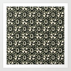Modern Florals Art Print