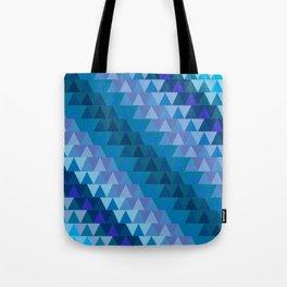 Digital Waves Tote Bag