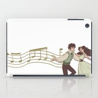 grantaire iPad Cases featuring Dance With Me by invisibleinnocence