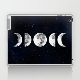 Phases of the Moon Galaxy Laptop & iPad Skin