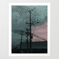 costa rica 5 Art Print