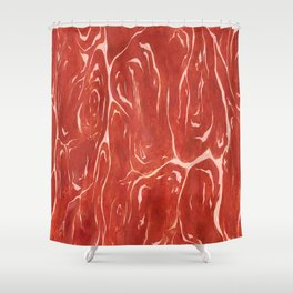 Meat! Shower Curtain