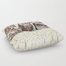 Strange Animals Floor Pillow
