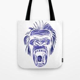 GORILLA KING KONG - Blue Tote Bag
