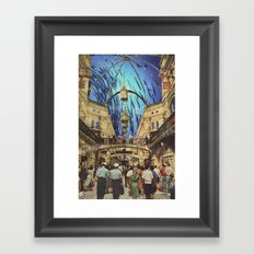 Ocean Mall Framed Art Print