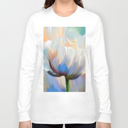 Coco In Love Poppy Floral Art Long Sleeve T-shirt