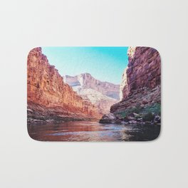 Floating the Colorado River Bath Mat