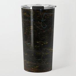 Scribbly Lights Travel Mug