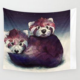 red pandas Wall Tapestry