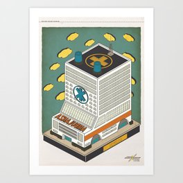 Ambu Palace Art Print