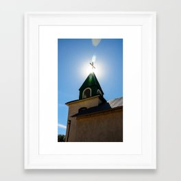 Church Light Framed Art Print
