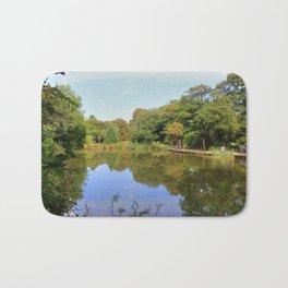 A Lovely Walk Round Priory Park Bath Mat