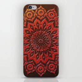 okshirahm woodcut iPhone Skin