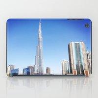 wiz khalifa iPad Cases featuring Dubai Burj Khalifa by MyndVu