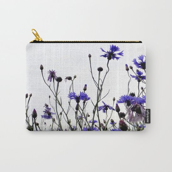 Cornflowers blue Carry-All Pouch