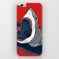 Greedy Shark iPhone & iPod Skin