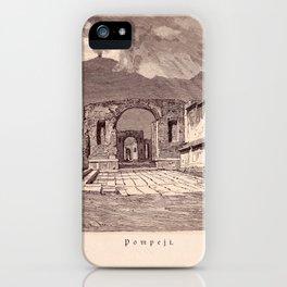 Pompeji iPhone Case