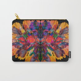 Dew Drop Rainbow Flower Carry-All Pouch
