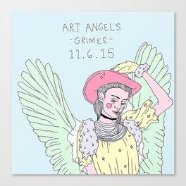 Art Angels Canvas Print